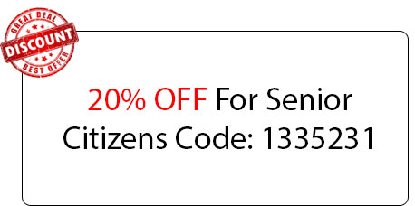 Senior Citizens Discount - Locksmith at West Chicago, IL - West Chicago Il Locksmith